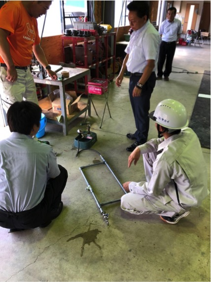 建築配管試験