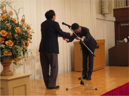 青森県健康経営事業所認定証交付式